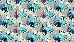 """""""人生而自由 却无往不在隔间之中"""":办公室里的压抑与暴动"""