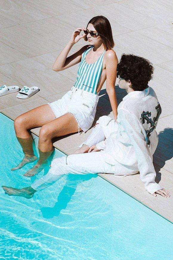 需要找希腊代购的Off-White新品 让时尚女魔头穿上脚
