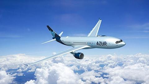 海南航空与蓝鹰航空代码共享航线巴黎=北京成功首航