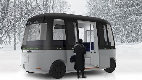 开了菜市场和酒店的MUJI 又开始造车造船,无人驾驶公交车 Gacha Bus 明年初落地芬兰