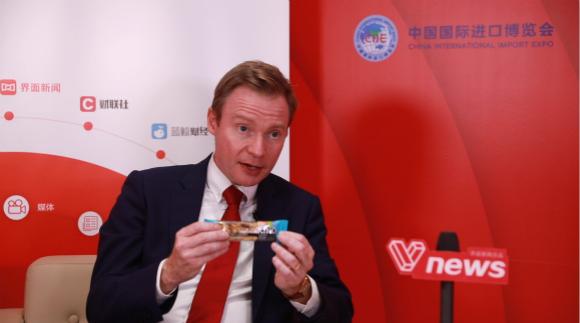 【进博会现场|专访】玛氏全球董事会主席:中国市场令人振奋 将加大在华投资