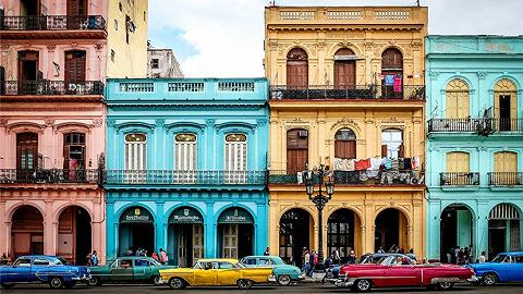 古巴   不如忘记手机 迷路在哈瓦那