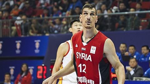 联赛停办、人才断档,战火中的叙利亚男篮值得尊敬