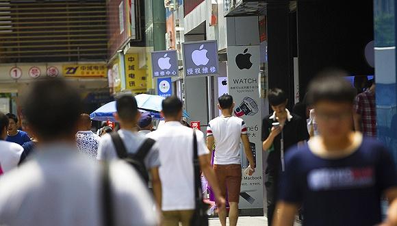 """提前""""放假""""的华强北:只因二手iPhone便宜了?"""