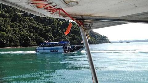 泰国撞船事故原因查明:引擎故障和方向盘失灵
