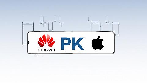 数据 | 华为pk苹果,手机到底谁更强?