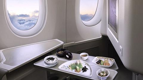 当你飞国际航班时,在想哪家商务舱的美味?