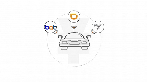 数据 | 互联网企业抢食汽车市场:BAT带头砸钱,滴滴京东紧跟