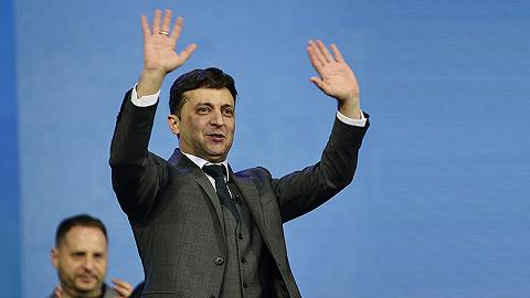 波罗申科承认败选,演员泽连斯基赢得乌克兰总统选举