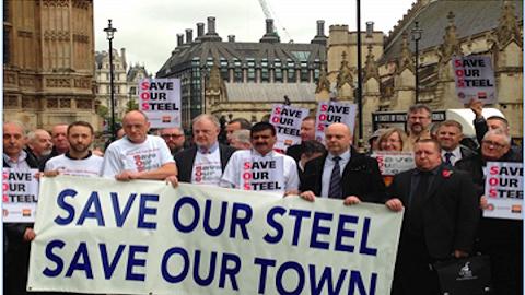 离家出走的第一次工业革命:英国钢铁公司宣布破产,危及2.5万人就业