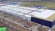 特斯拉上海工厂开始安装车间设备,变电站也在建设中