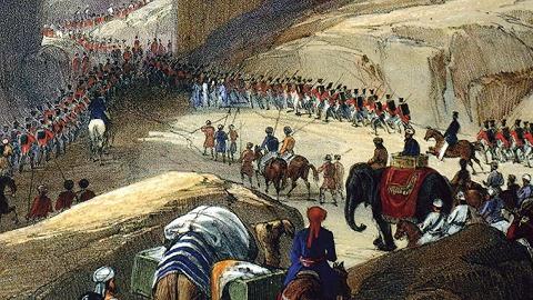 阿富汗:十九世纪的帝国墓地