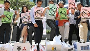 78岁韩国男子在日本使馆前自焚,韩民间抵制日货行动愈演愈烈