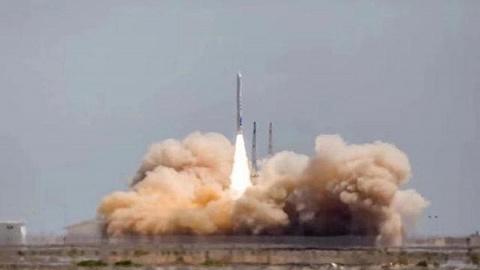 中国民营火箭公司首次成功发射卫星
