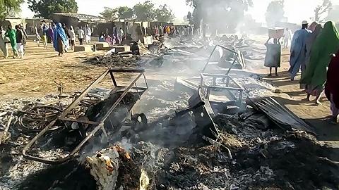 博科圣地袭击尼日利亚村庄致65人死亡,最致命恐怖组织再酿惨案