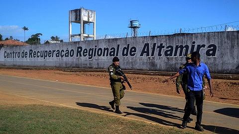"""巴西监狱老牌黑帮火拼""""地头蛇?#20445;?7人丧生,16人遭斩首"""