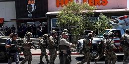 """美国得州遭遇""""最血腥一天?#20445;?1岁枪手持AK47扫射,沃尔玛内外20人丧生"""