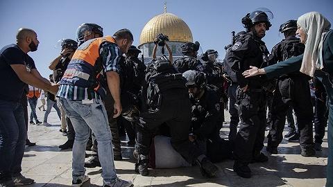 节日撞上纪念日,巴勒斯坦谴责以色列侵犯阿克萨清真寺
