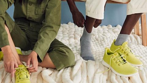 从卖袜子开?#36857;?#20197;羊毛运动鞋著称的Allbirds涉足服装领域