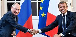 """法俄峰会谈及乌克兰:但马克龙更看重商机,普京则展现""""并不孤立"""""""