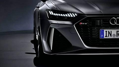 新车   全新一代奥迪RS6 Avant官图公布,将在法兰克福车展首发