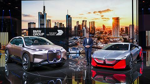 氢燃料概念车、双门概念跑车、全能轿跑X6全球首秀之外, 宝马的新掌门人也亮相了