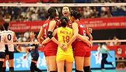 中国女排3-0韩国夺世界杯开门红