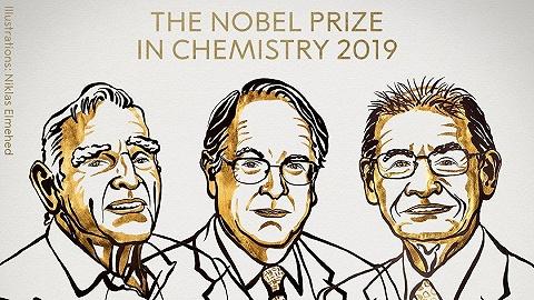 """三位科學家分享2019諾貝爾化學獎,他們""""創造了可充電的世界"""""""