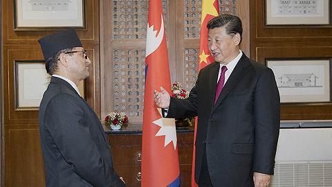 習近平會見尼泊爾聯邦院主席