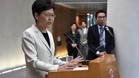 林鄭月娥:香港經濟在第三季度應已步入技術性衰退
