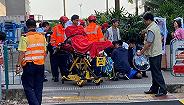 香港立法会议员何君尧遇袭受伤,警方拘捕一涉案者