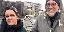 【现场】在柏林,人们这样纪念危墙倒下三十周年