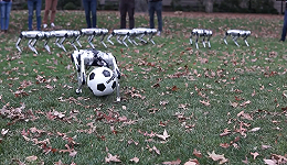 工业之美 机器人足球队来了,麻省理工这九只猎豹机器人能传球也能抢球