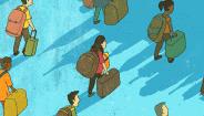 两个世界两种孤独:移民书写中的离散与挣扎