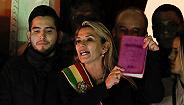 """玻利维亚反对党女议员欲接任总统,委内瑞拉媒体曝光美国""""参与政变""""录音"""