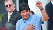 """身在墨西哥放话""""迟早会回来"""",莫拉莱斯有机会重返玻利维亚政坛吗?"""