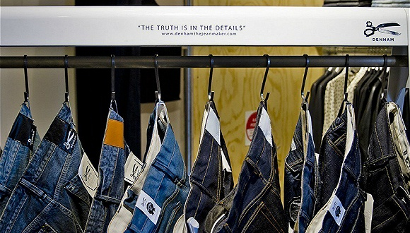 赫基集团收购的牛仔品牌Denham推出全球首款可生物降解弹力牛仔裤,目前已上市图1