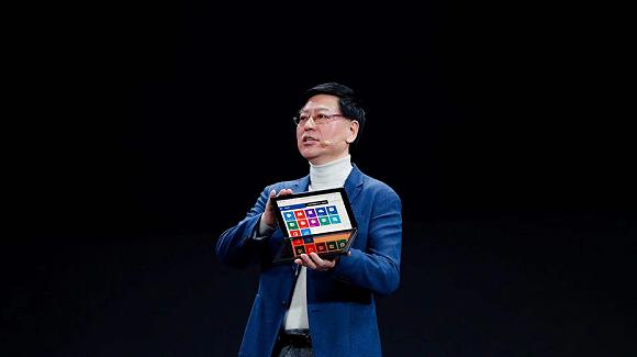 联想创新科技大会:发布折叠屏新品,想做个人智能大厦图1