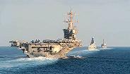 伊朗击落美国无人机后,美航母战斗群首次通过霍尔木兹海峡