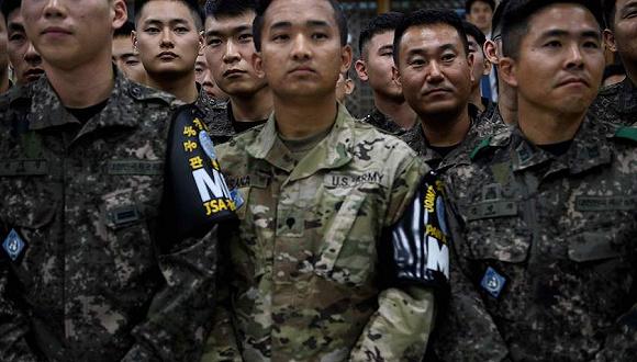 """美防长否认驻韩美军""""撤军说"""":不会威胁盟友"""