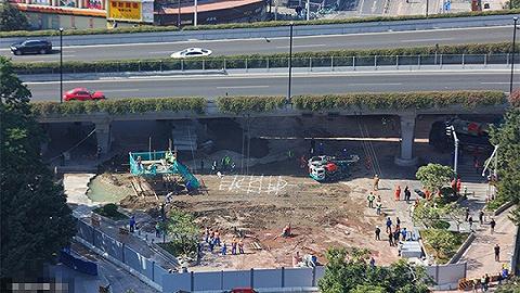 广州地铁塌陷区工程由中铁五局承建,专家称项目都有预警系统