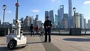 上海警方保障跨年夜,警用机器人首次担纲元旦安保