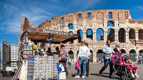 罗马主要旅游景点撤除纪念品小摊位