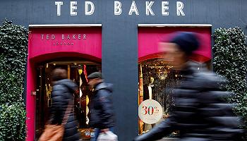 Ted Baker陷财务丑闻,库存虚报致资产负债表缺口5800万英镑