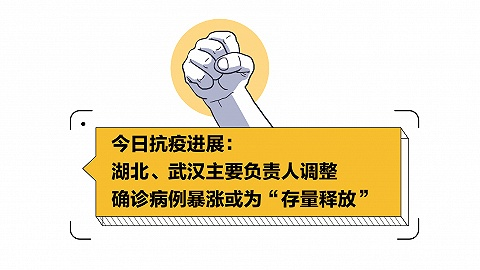 """圖解   2月13日抗疫進展:湖北、武漢主要負責人調整,確診病例暴漲或為""""存量釋放"""""""