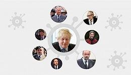 数据 | 英国首相新冠病毒检测呈阳性,国外超80名政要官员确诊
