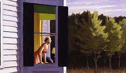 疫情中的现代孤独:我们都是爱德华·霍普的画中人吗?