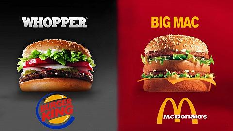 疫情期间也不消停,汉堡王挤兑麦当劳的戏码又更新了