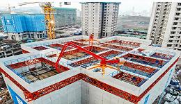 """【工业之美】三天造就一层楼,国内首台""""住宅造楼机""""来了"""