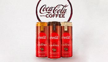 """可口可乐版的""""咖啡可乐""""即将亮相,咖啡因加倍卡路里减半"""